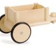 Remorque en bois trotteur porteur jasper toys