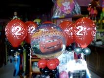 ballon cars 2 ans