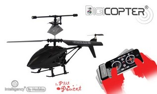 Digicopter hélicoptere smartphone tablette P'tit Poucet Soignies