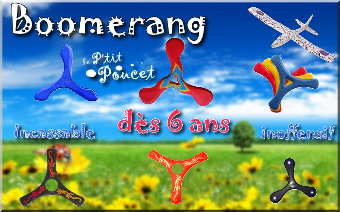 Boomerang intérieur mousse débutant enfant magasin soignies belgique