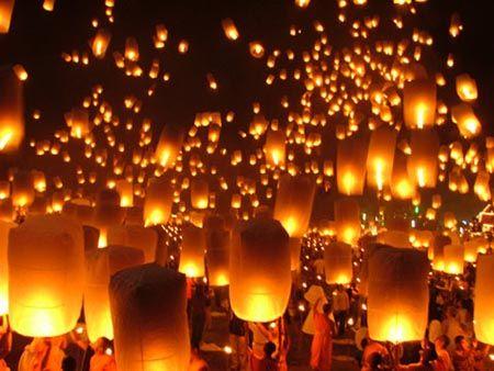 Magasin de lanternes c lestes - Construire une lanterne volante ...