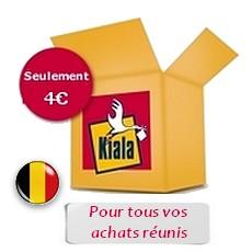 Kiala tous vos achats pour 4€