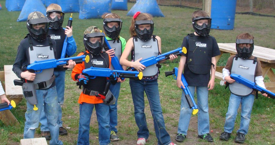 paintball enfant team