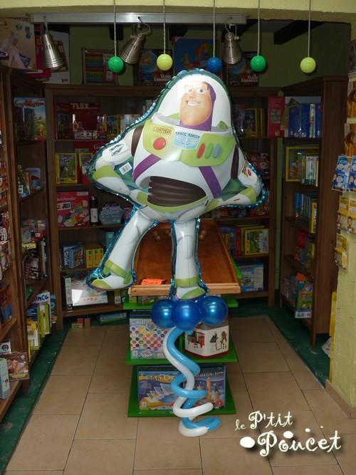 Ballon Buzz l'Eclair Toy Story